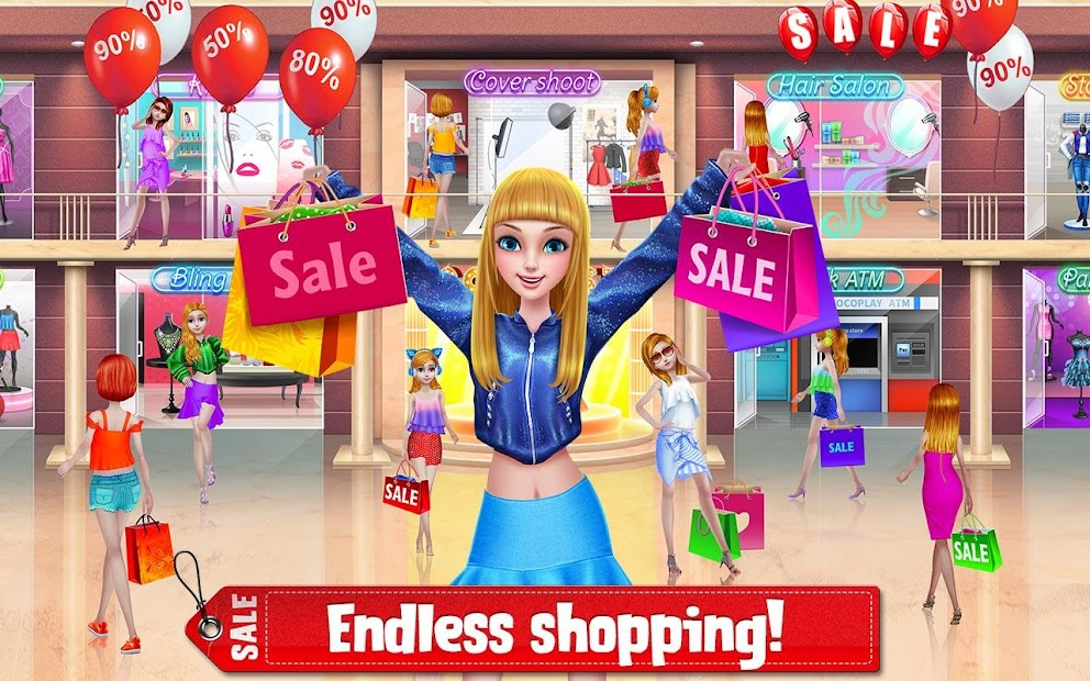 Shopping Mania - Black Friday Fashion Mall Game screenshot 3