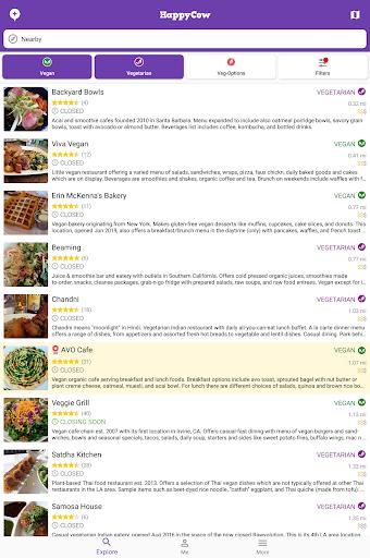 Find Vegan Restaurants & Vegetarian Food- HappyCow 62.0.56-free-v2 Screenshots 11