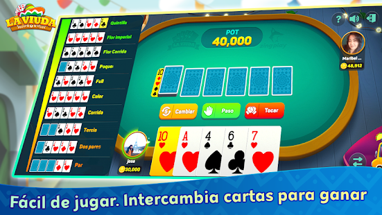 La Viuda ZingPlay: El mejor Juego de cartas Online 1.1.32 APK screenshots 3