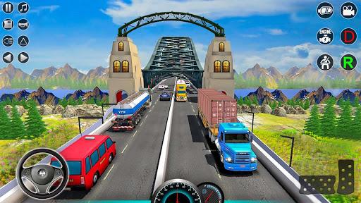 American truck driver simulator: USA Euro Truck Apkfinish screenshots 3