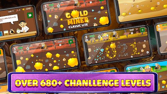 Gold Miner Classic Lite screenshots 3