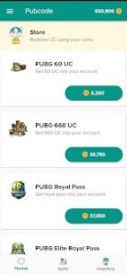 Pubcode – Free UC & Free Royale Pass 2