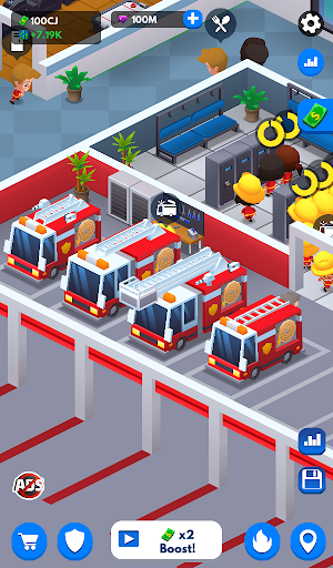 Idle Firefighter Tycoon - Fire Emergency Manager 0.14 screenshots 19