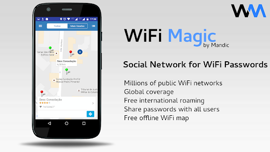 WiFi Magic by Mandic Passwords Screenshot