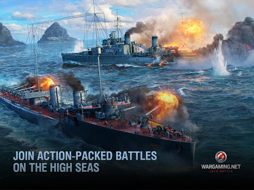 World of Warships Blitz: Gunship Action War Game 3.5.0 screenshots 8