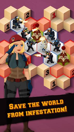 Zombie Sweeper: Seek and Strike Puzzle 1.2.103 screenshots 2