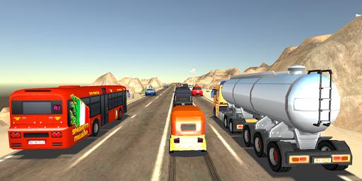 Tuk Tuk Rickshaw:  Auto Traffic Racing Simulator screenshots 2