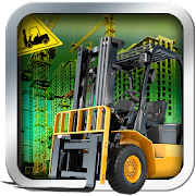 Airport Forklift Driving Heavy Machinery Sim 3D