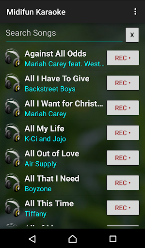Midifun Karaoke 10.01 Screenshots 1