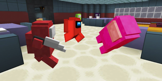 Addons Among Us for Minecraft