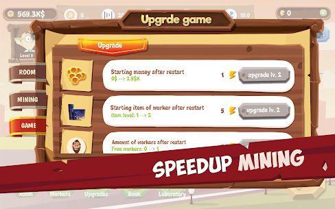 Mining Simulator – Idle Clicker Tycoon Mod Apk (Unlimited Energy) 6
