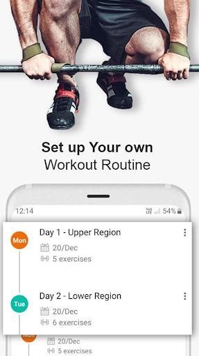 Gym WP - Workout Routines & Training Programs  screenshots 3