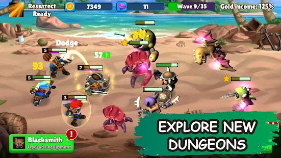 Idle Warrior Tales: Offline RPG Games AFK Battle