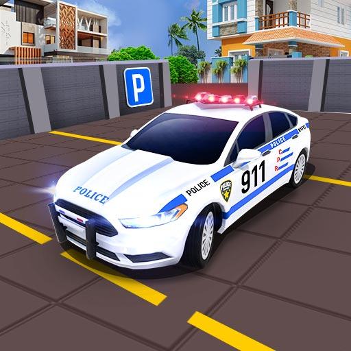 Modern de poliție Parcare Simulator 3D Jocuri
