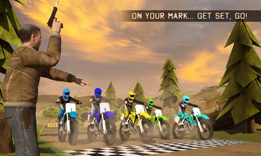 Motocross Race Dirt Bike Games  screenshots 1