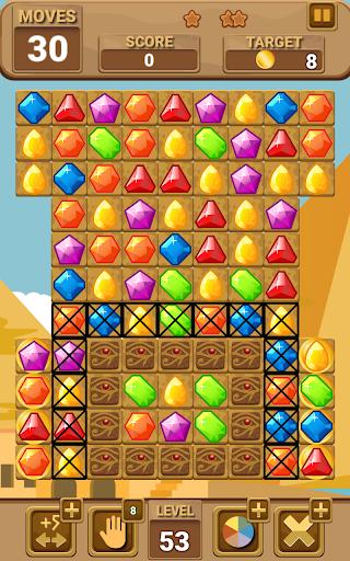 lost jewels of egypt match 3 screenshot 2