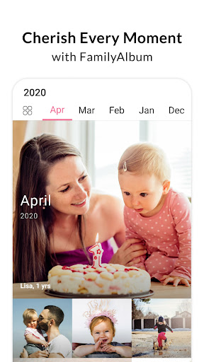 FamilyAlbum - Easy Photo & Video Sharing apktram screenshots 1