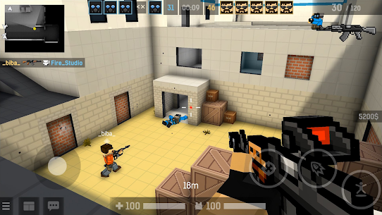 BLOCKPOST MOBILE MOD (Weapons Unlocked) 3