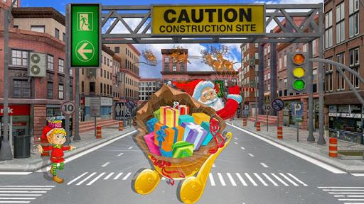 Christmas Santa Crazy Kart Gift Delivery Game 2020 1.2 screenshots 4