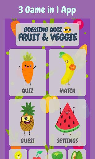 Fruits & Vegetables Quiz - Fruiz  screenshots 6