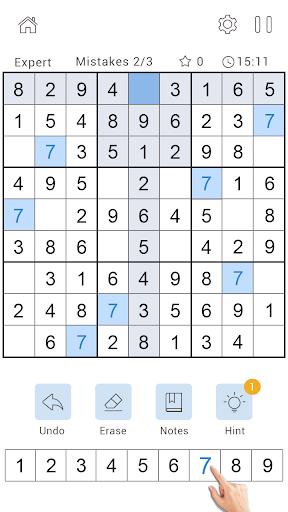 Daily Sudoku Classic - Free Sudoku Puzzle 1.0.4 screenshots 4