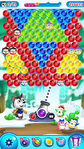 Bubble Shooter MOD APK- Frozen Pop (Unlimited Lives) Download 8