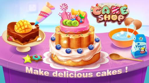 🤤🍰 Cake Shop  - Bake & Decorate Boutique modiapk screenshots 1