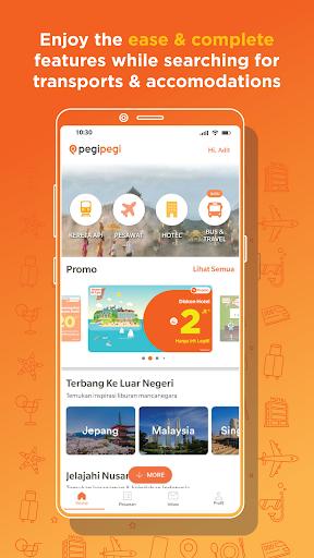 Pegipegi - Buy Hotel, Flight, Train & Bus Ticket android2mod screenshots 1