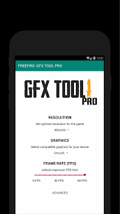 60 FPS Booster – GFX Tool PRO FOR FREE FIRE (FREE) 3