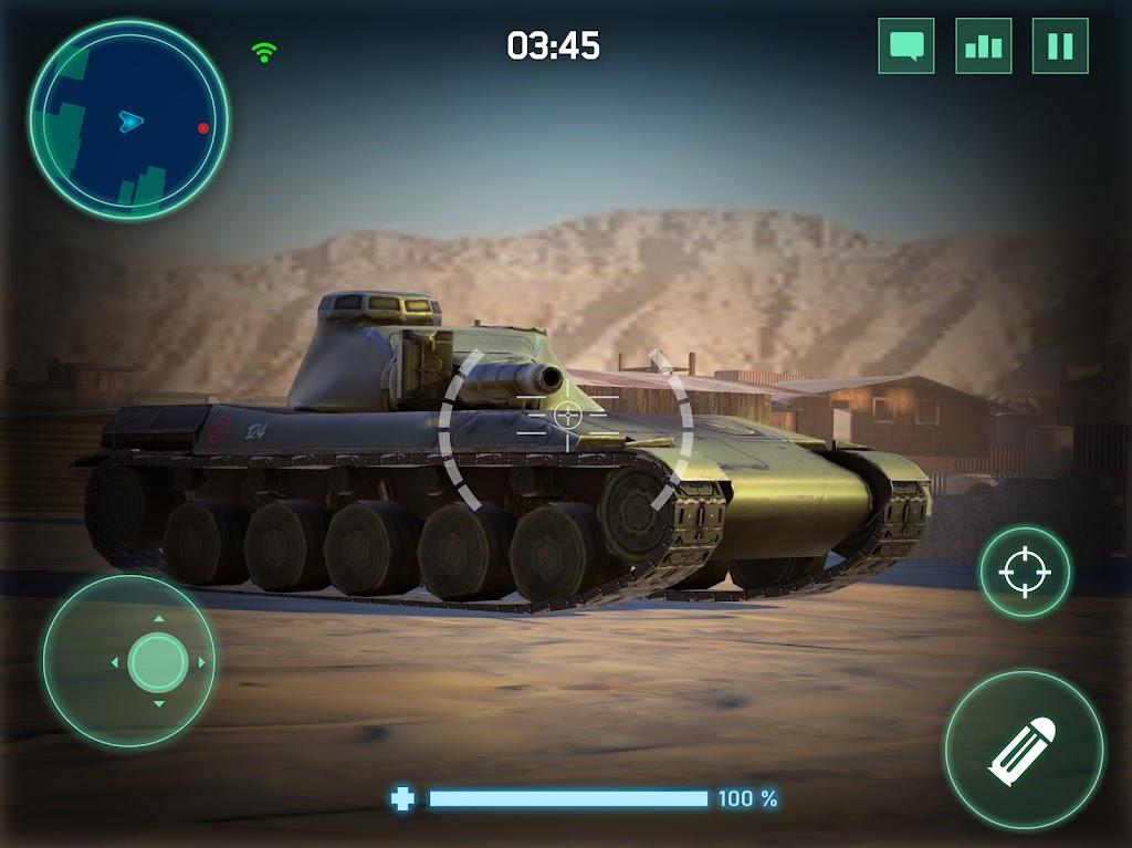War Machines: Tank Army Game poster 12