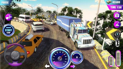 American Truck Driver Simulator- Cargo Truck Game  screenshots 2