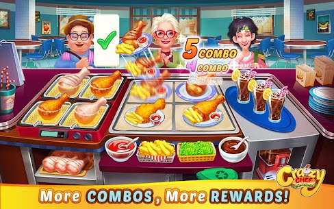 Crazy Chef: Fast Restaurant Cooking Games 9