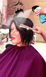 Girls Haircut, Hair Salon & Hairstyle Games 3D 1.9.1 Mod + Data for Android 1