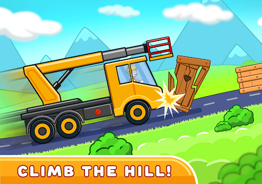 Car games for kids: building and hill racing 0.1.9 screenshots 11