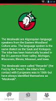 Meskwaki Language App