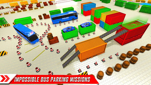 Police Bus Parking Game 3D - Police Bus Games 2019  screenshots 5