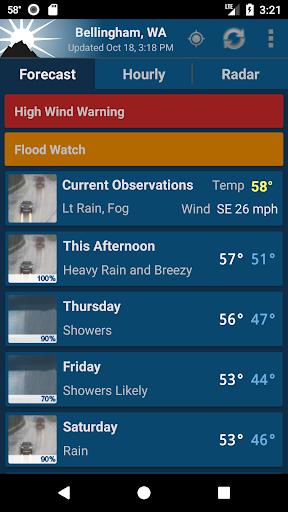 NOAA Weather Unofficial 2.10.6 Screenshots 1