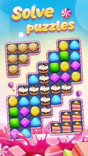 Télécharger Candy Charming - 2020 Match 3 Puzzle Free Games apk mod screenshots 4