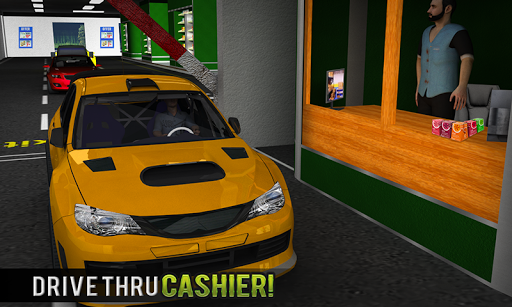Drive Thru Supermarket: Shopping Mall Car Driving 2.3 Screenshots 5