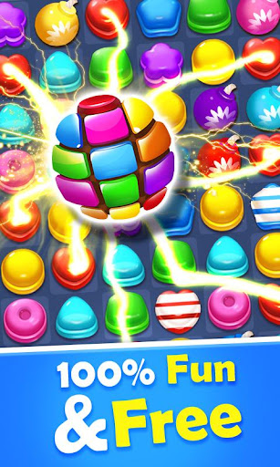 Sweet Candy Mania - Free Match 3 Puzzle Game screenshots 1