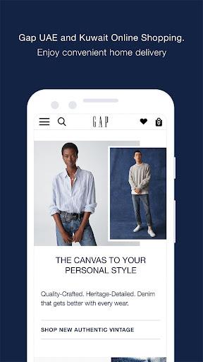 gap me online shopping screenshot 1