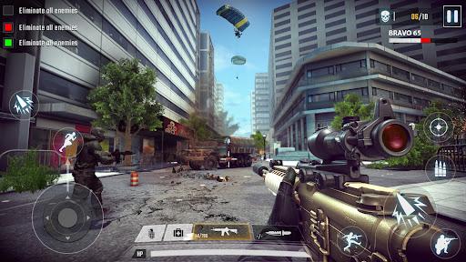 FPS Commando Shooting Games: Critical 3D Gun Games apktram screenshots 2