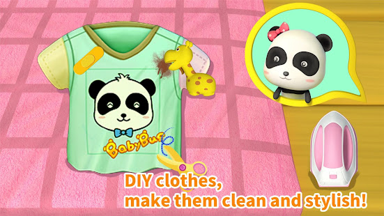 Cleaning Fun - Baby Panda 8.48.00.01 Screenshots 4