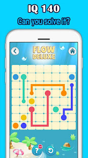 Color Link Deluxe - Line puzzle