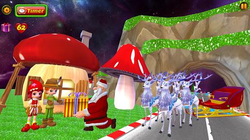 Santa Christmas Infinite Track screenshots 5