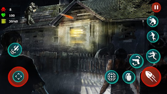 Dead Strive: Zombie Survival FPS Shooting For Android 4