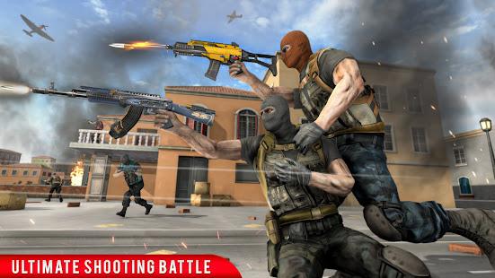 Real Terrorist Shooting Games: Gun Shoot War 1.15 Screenshots 2