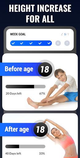 Height Increase - Increase Height Workout, Taller  Screenshots 1