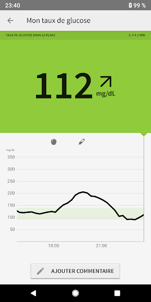 FreeStyle LibreLink - FR Android App Screenshot