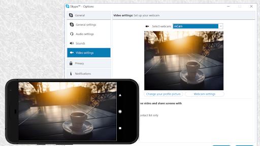 Iriun 4K Webcam for PC and Mac  Screenshots 1